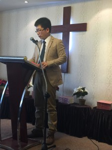 Preaching the second service